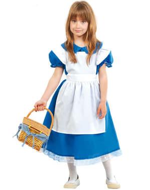 Dievčenský kostým Alicia v lesoch