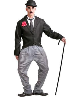 Charlie Chaplin Charlot kostume til mænd