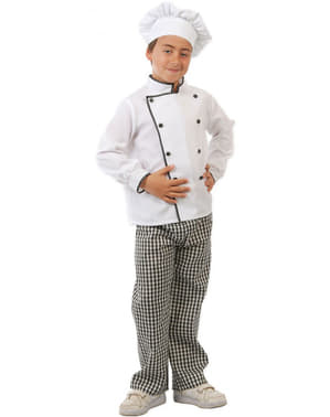 Kids Chef Cook Costume