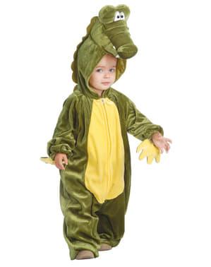 Fato de crocodilo para bebé