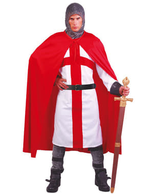 Strój rycerz zakonu krzyżackiego