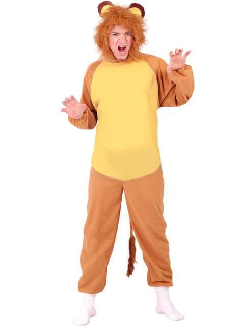 Løve Kostyme til Menn
