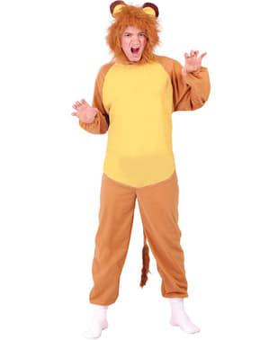 Costume da leone per uomo