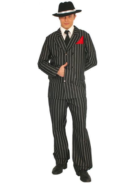 Gangster kostume til mænd