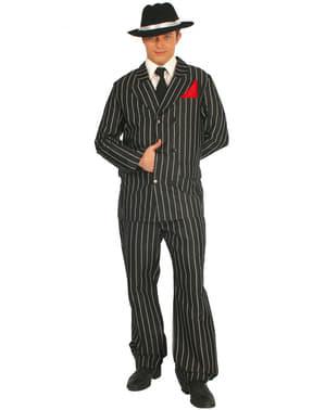 Costum de gangster pentru bărbat