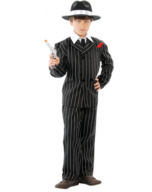 Dressed gangster Costume for a boy