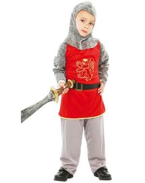 Fato de guerreiro feudal para menino