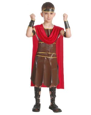 Fato de guerreiro romano para menino