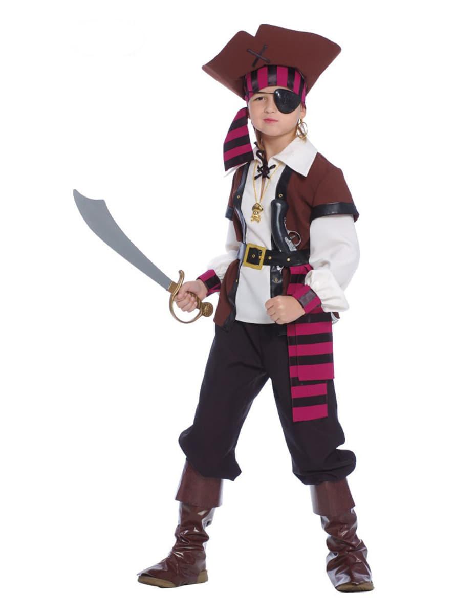 Costumi pirata bambino e vestitia piratessa bambina  4bcf91137556