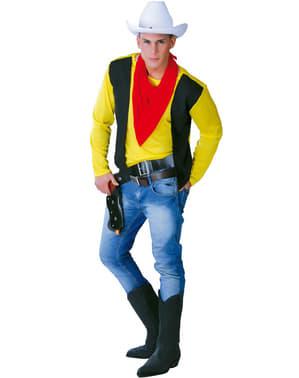 Maskeraddräkt cowboy gunman vuxen