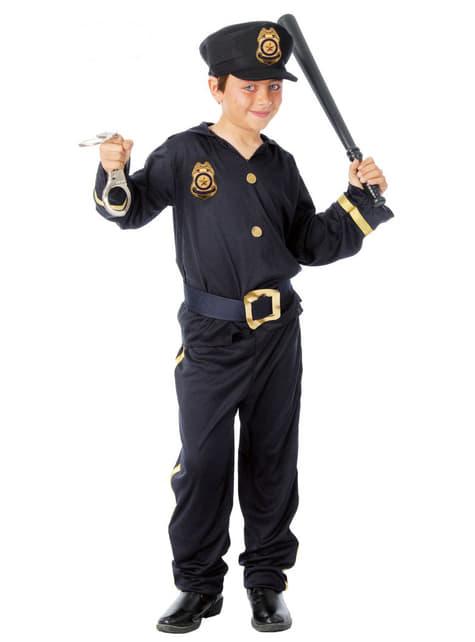 Fato de polícia infantil