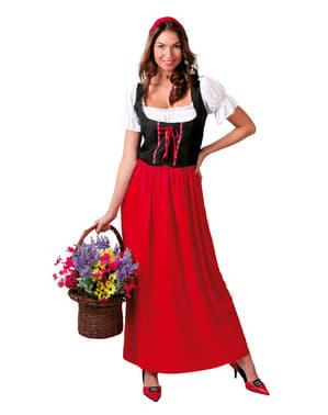 Costum de ospătăriță pentru femeie