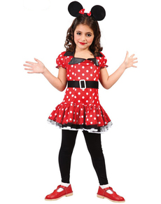 Girls Minnie Mousey Costume  sc 1 st  Funidelia & Minnie Mouse Costumes online | Funidelia