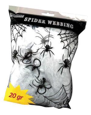 20 gramov majhna pajčevina