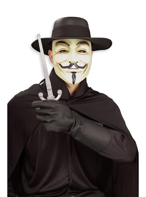 Guantes de V de Vendetta