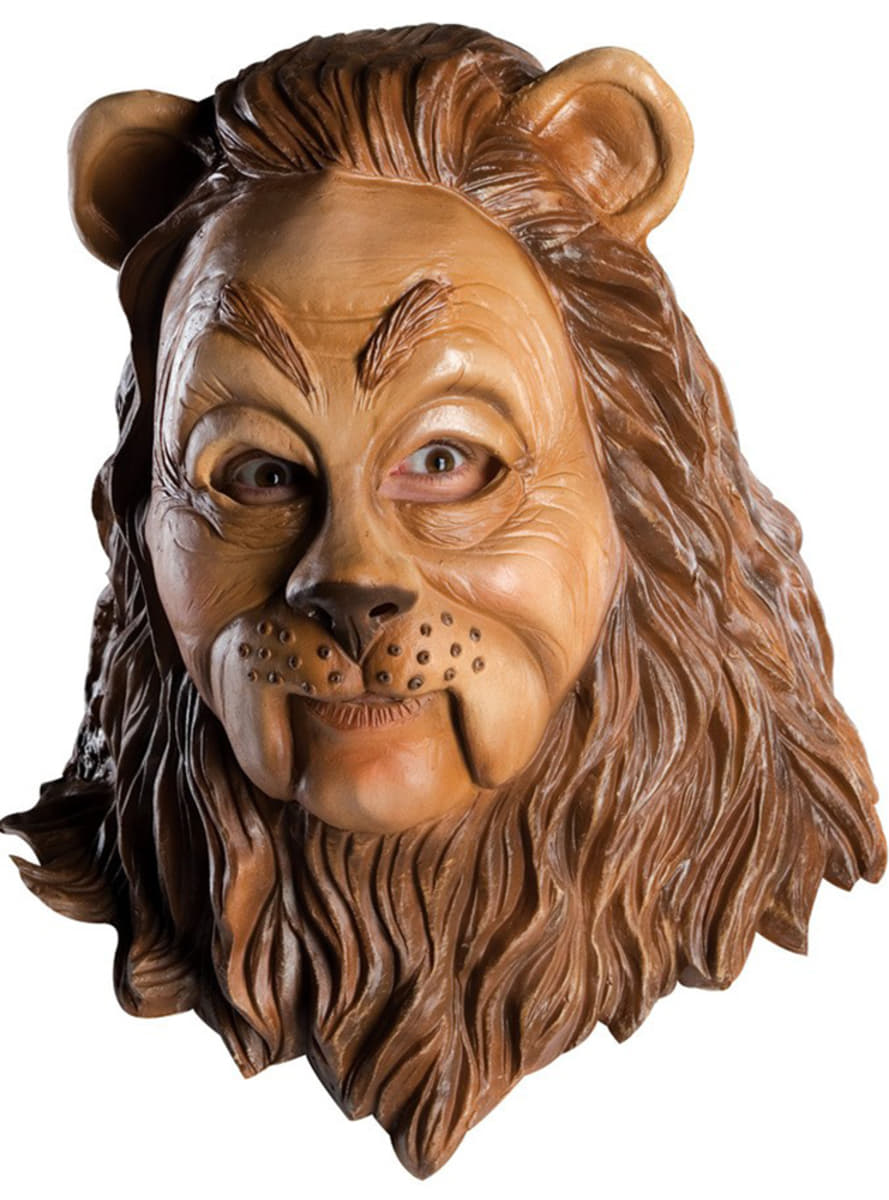 The Cowardly Lion Mask Express Delivery Funidelia