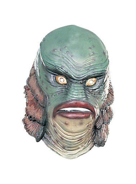 Máscara do Monstro da Lagoa preta