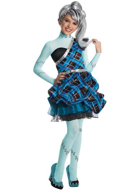 Dětský kostým Frankie Stein Monster High: Sladkých 1600