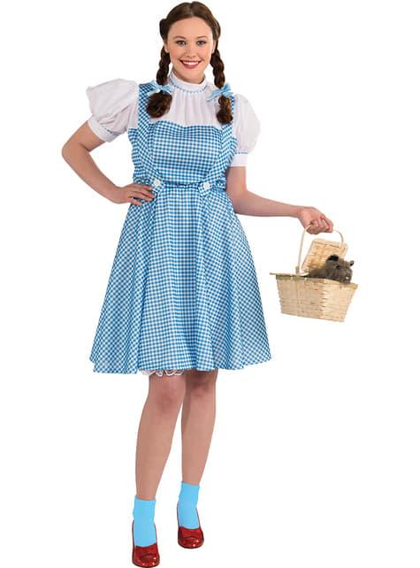 Плюс размер Дороти костюм за възрастни