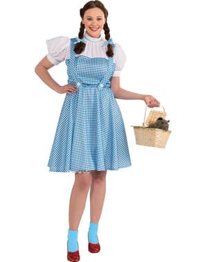 Dámský kostým Dorotka Čaroděj ze země Oz nadměrná velikost