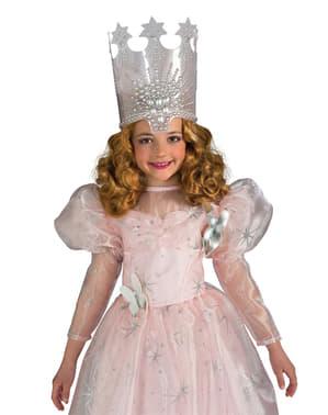 Peruca de Glinda o Feiticeiro de Oz classic para menina