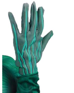 Зелений ліхтар дитини рукавички