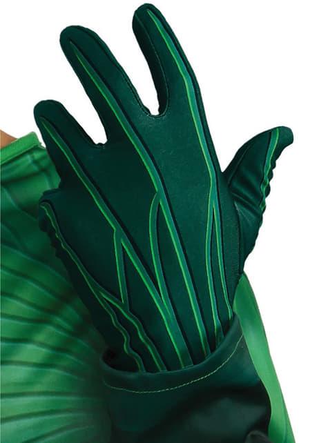 Guantes de Linterna Verde para adulto