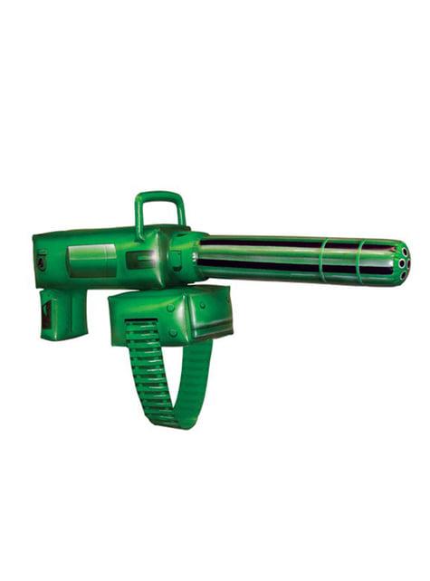 Ametralladora de Linterna Verde hinchable