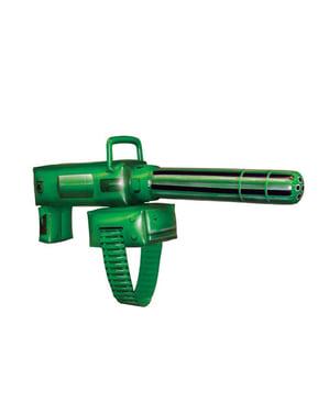 Grønn lykt oppblåsbar maskinpistol