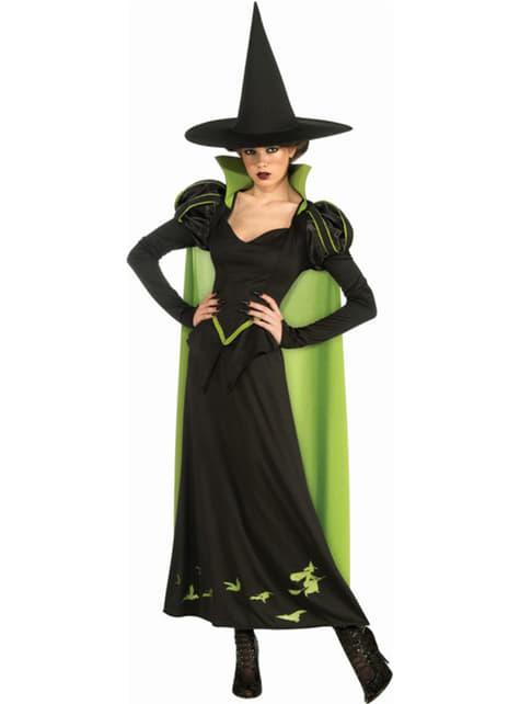 Disfraz de bruja malvada del oeste El Mago de Oz