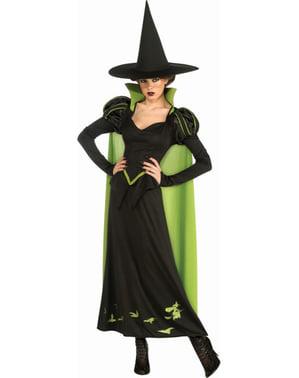 Déguisement de sorcière maléfique de l'Ouest Le Magicien d'Oz