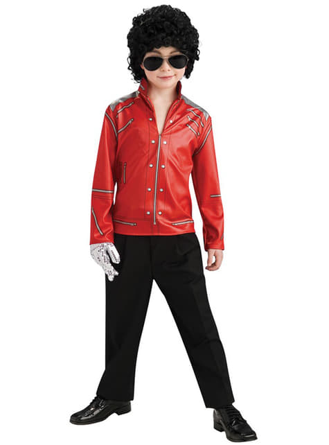 Sacou Michael Jackson Beat it pentru băiat