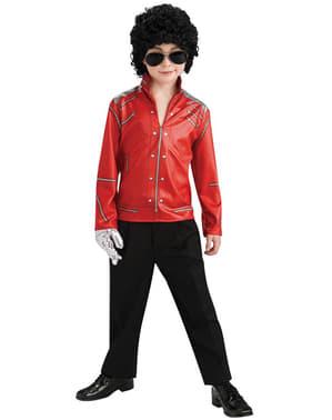 Giacca Michael Jackson Beat it da bambino