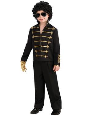 Giacca Michael Jackson con stampe da bambino