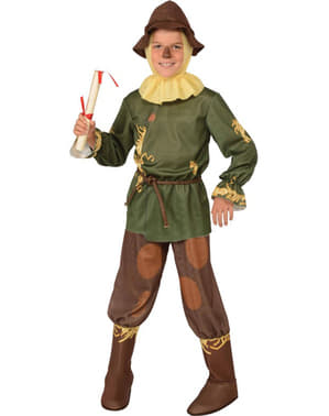 Green Scarecrow Kids Costume