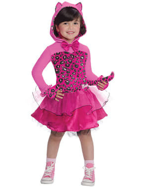 Roze Barbie Kitty kostuum voor meisjes