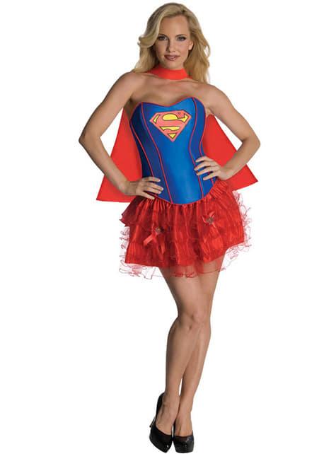 Disfraz de Supergirl corsé