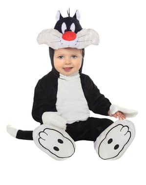 Costum Motanul Sylvester pentru bebeluși