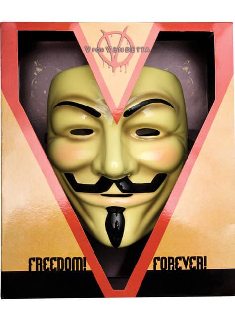 Máscara V de Vingança deluxe