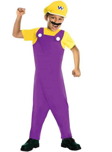 Disfraz de Wario malvado para niño