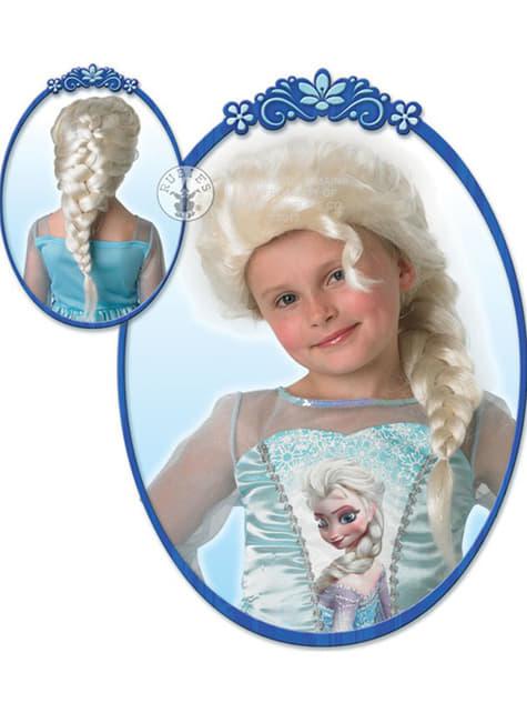 Peluca de Elsa Frozen