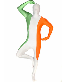 Disfraz de bandera de Irlanda Morphsuit