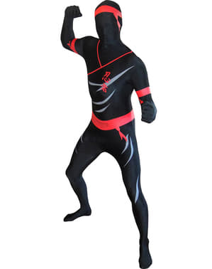Přiléhavý oblek pro dospělé ninja