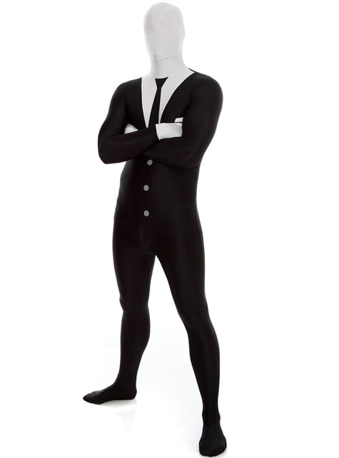 Костюмът на Slenderman Morphsuit