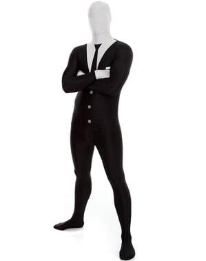 Přiléhavý oblek pro dospělé Slenderman