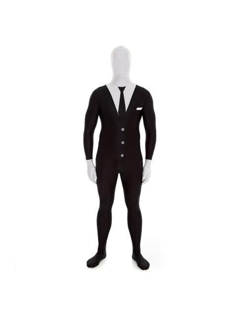 Disfraz de Slenderman Morphsuit - hombre