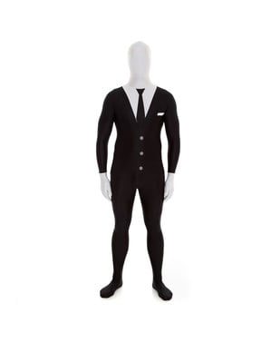 Costume vestito nero Morphsuit