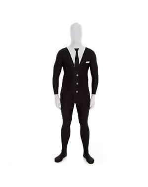 Schwarzer Anzug Morphsuit
