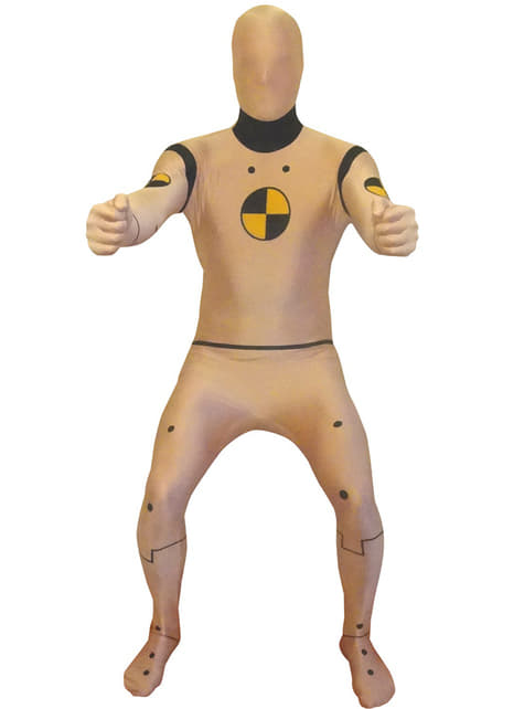 Disfraz de maniquí de prueba de choque Morphsuit
