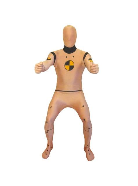 Disfraz de maniquí de prueba de choque Morphsuit - adulto